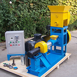 Floating fish feed pellet machine (dry)