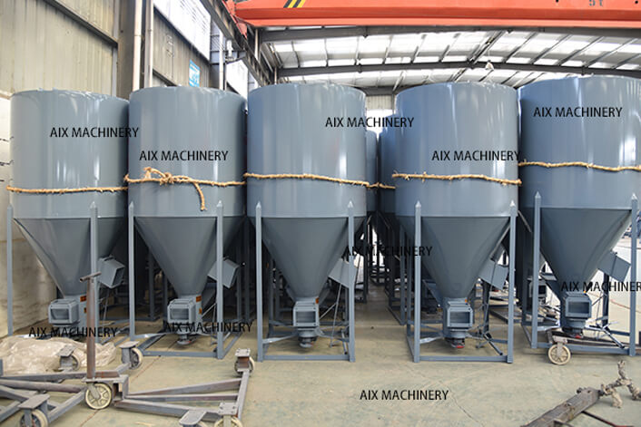 Mixer machine warehouse
