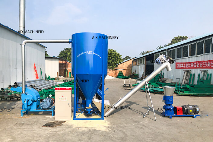 Mixer machine line